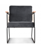 Fauteuil Cabanette Anthracite