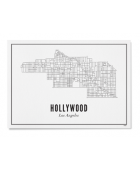 Hollywood Affiche 50x70cm