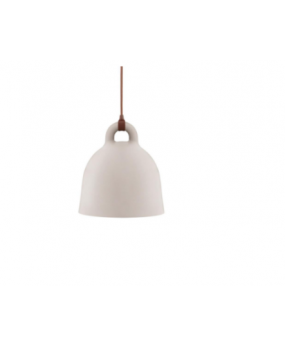 Suspension Bell Small Taupe